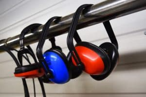 Ear defenders may be required depending on garden tools - decibels levl