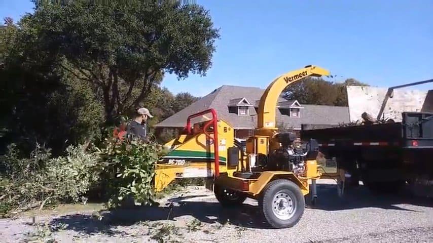 Heavy duty commercial tree/bush shredder