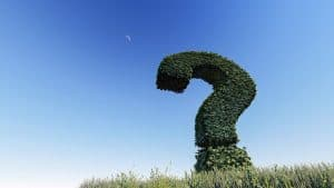 Topiary Question Mark