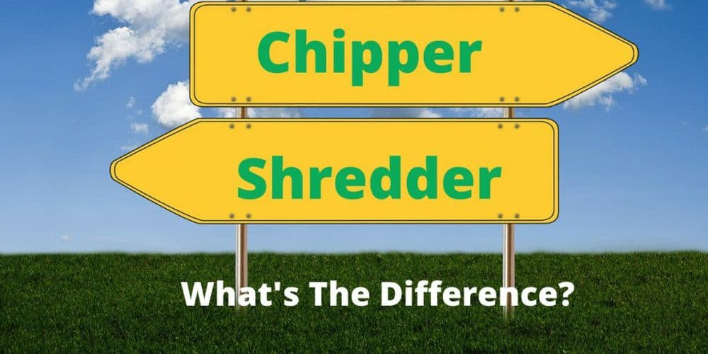 Chipper and Shredder on two identical signs. What is the difference?